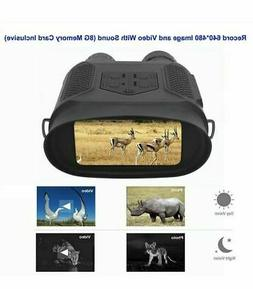 720P IP56 Digital Infrared Night Vision Binocular Video reco