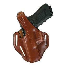 Bianchi 77 Piranha Holster - Plain Tan, Right Hand