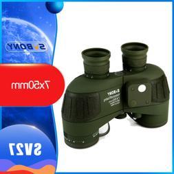 SVBONY 7x50 Military FMC Floating Marine Binocular with Rang