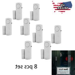 8 Home Safety Burglar Alarm Wireless System Security Device