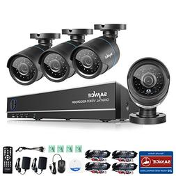 ANNKE 8CH 1080N HD DVR Security Camera System and  720P Nigh