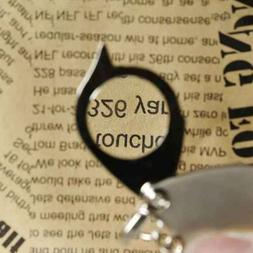8X travel Portable Pocket Folding Magnifier Loupe Magnifying