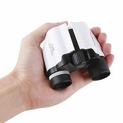 8x21 Small Compact Lightweight Folding Bird Binoculars for A