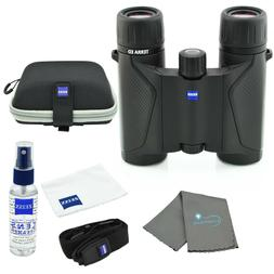 Zeiss 8x25 Terra ED Compact Pocket Binocular Black with Lens