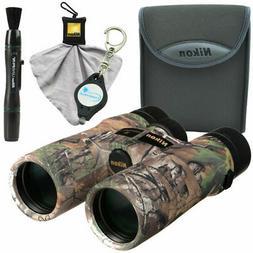 Nikon 8x42 Monarch 3 Binocular RealTree Xtra Green w/ Lens P