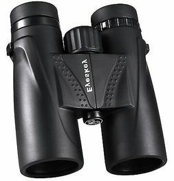 8x42 Waterproof Binoculars BaK4 Roof Prism Non-slip Telescop
