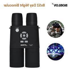 Boblov 8x52 Optical Infrared Night Vision Binocular Telescop