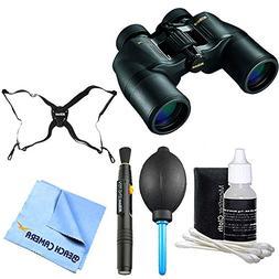 ACULON 7x35 Binoculars bundle with binoculars, pen cleaning