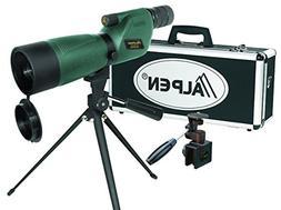 ALPEN 20-60x60 Waterproof Fogproof Spotting Scope Kit