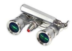 Adorama 3 x 25 Iolanta FL Opera Glass Binocular with Built-I