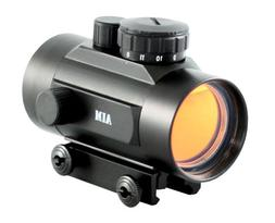 Aim Sports 1X42 Weaver Base Red Dot Sight with Flip-Up Lens
