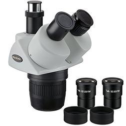 AmScope SW24T Trinocular Stereo Microscope Head, WH10x Eyepi