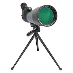 Aomekie 20-60 X 80mm Zoom Spotting Scope with Metal Tripod a