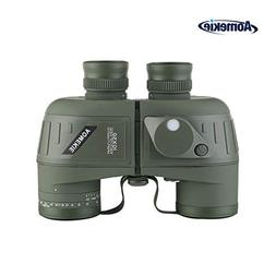 Aomekie Marine Military Binoculars for Adults 10x50 Waterp