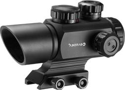 BARSKA AC12176 Multi Reticle Red Dot Optics, 1x 35mm, Matte