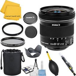 Canon EF-S 10-18mm f/4.5-5.6 IS STM 33rd Street Lens Bundle