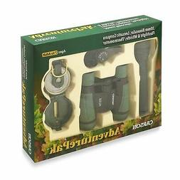 Carson AdventurePak Containing 30mm Kids Field Binoculars, L