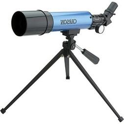 Carson Aim Refractor Type 18x-80x Power Telescope with Table