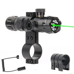 Gohiking Tactical Green Sight, 532nm Green Dot Rifle Scope S