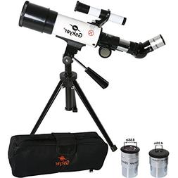Gskyer Telescope, 60mm AZ Refractor Telescope, German Techno