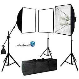 LimoStudio Photo Video Studio 2400 Watt Softbox Continuous L