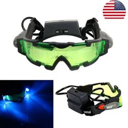 Military Adjustable Elastic LED Night Vision Goggles Glasses