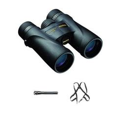 Nikon 8x42 Monarch 5 Water Proof Roof Prism Binocular Bundle