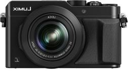 PANASONIC LUMIX LX100 4K Point and Shoot Camera, 3.1X LEICA