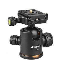 Pergear TH3 Pro DSLR Camera Tripod Ball Head, 8KG/17.6lbs Lo
