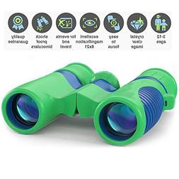 Professional Kids Binoculars with HIGH Magnification 8x21 -
