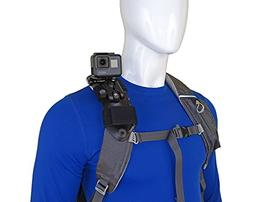 STUNTMAN Pack Mount - Shoulder Strap Mount for Action Camera