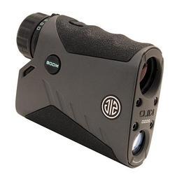 Sig Sauer Kilo 2000 Yard Graphite Rangefinder, 7 x 25mm