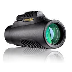 SOLOMARK 8x32 Handy Pocket-sized Monocular - Waterproof/Fog-