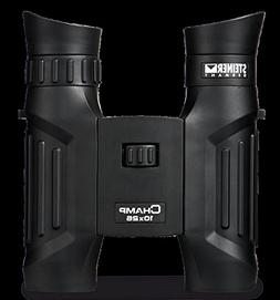 Steiner 10x26 Champ Binoculars Clam Pack, 2115 Black