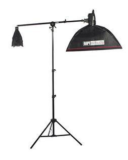 "Fovitec StudioPRO 100W/s Monolight Strobe Boom Arm With 20""x"