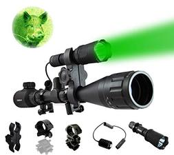 Ultimate Long Range Rechargeable Hog Hunting Light Bundle: O