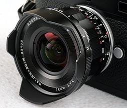 Voigtlander Super Wide Heliar 15mm f/4.5 M Mount Lens - Blac