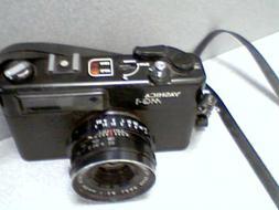 Yashica MG-1 fixed lens 35mm Rangefinder w/Yashinon 45mm 1:2