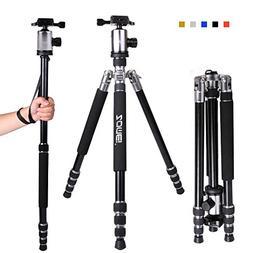 Zomei Z818 65-inch Lightweight Camera Tripod, Aluminum Porta