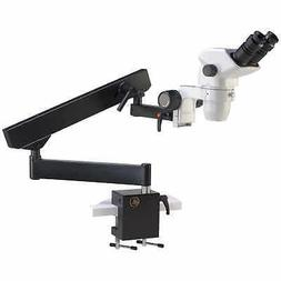 Accu-Scope Binocular Zoom Stereo Microscope with Flex Arm St
