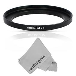 Altura Photo 52-58MM Step-Up Ring Adapter  + Premium MagicFi