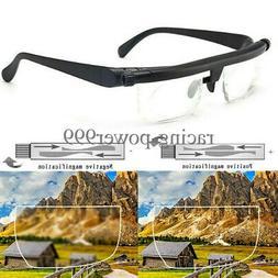 Adjustable Dial Eye Glasses Vision Reader Glasses Includes F