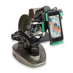 Carson Advanced 40x-1600x Compound Microscope with Universal