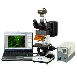 OMAX 40X-2500X Advanced EPI-Fluorescence Trinocular Biologic