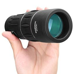 Aomekie 16x52 Monocular Telescope Compact Handhled Dual Focu