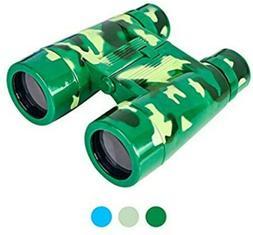 Aohua Toys Binoculars for Kids Camouflage Dark Green 7 X 35