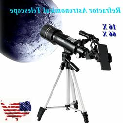 Astronomical Refractor Telescope with Eyepieces Tripod/Phone