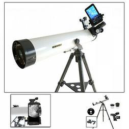 Cassini 800mm x 80mm Astronomical Telescope with Smartphone