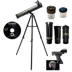 Galileo 800mm x 80mm Astronomical Telescope Kit with Zoom Le