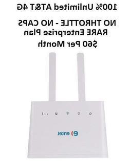 AT&T UNLIMITED DATA 4G LTE Hotspot RV Internet Huawei B310s